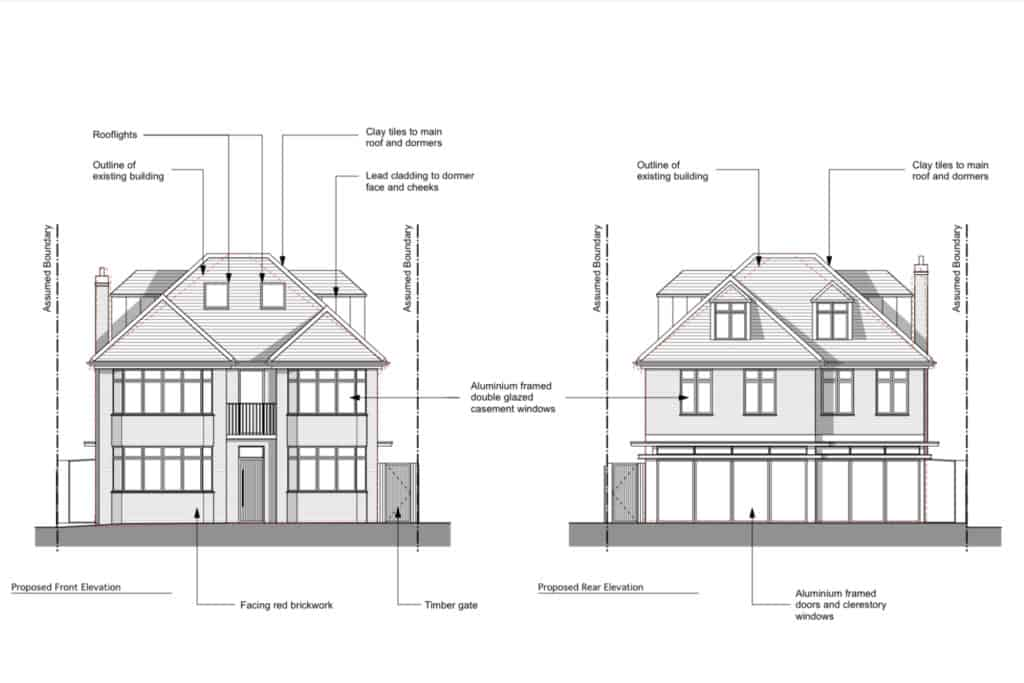 Dyer Grimes Architecture Has Planning Approval To Demolish A House In  Denbigh Gardens And Replace It With A New Build That Will Complement Its  Setting While ...