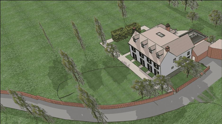 Planning permission for Greenbelt renovation in Surrey