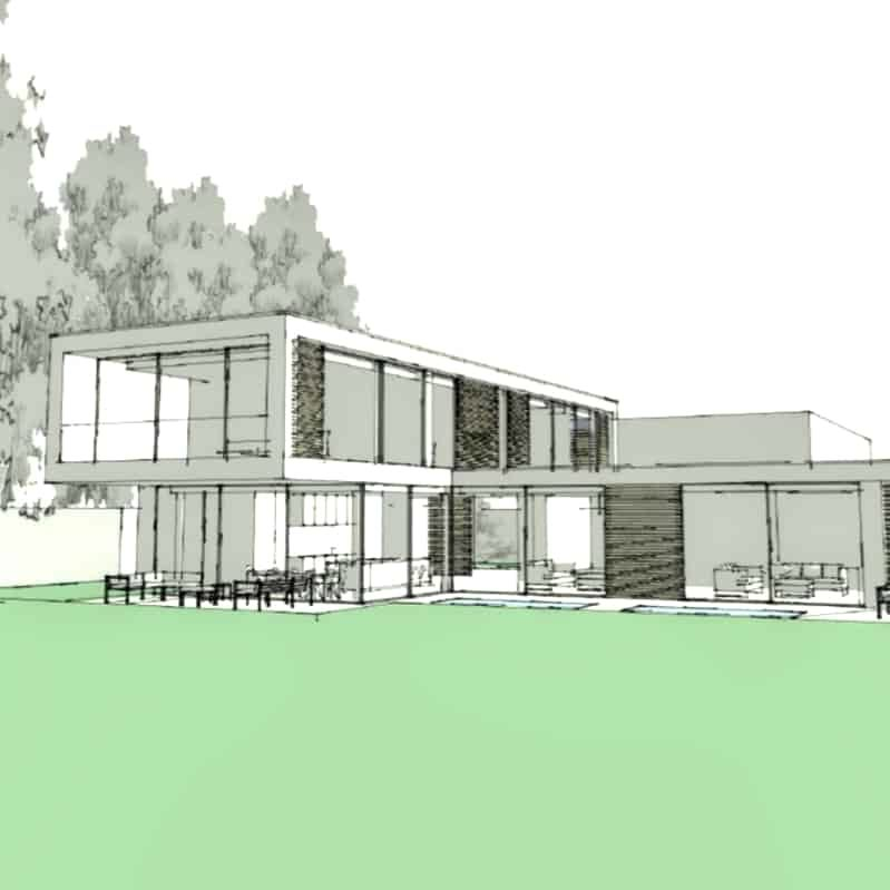 Wimbledon new build planning approval